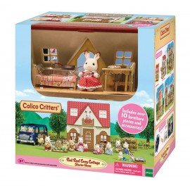 SYLVANIAN FAMILIES - RED ROOF COTTAGE STARTER HOME