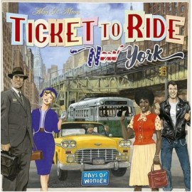 ASMODEE - TICKET TO RIDE NEW YORK