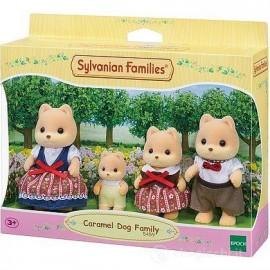 SYLVANIAN FAMILIES - CARAMEL DOG FAMILY