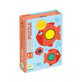 DJECO - CARTE LITTLE PUZZLE