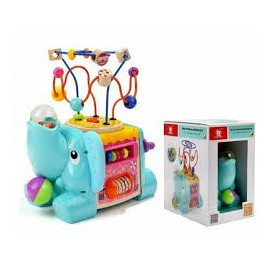 TOP BRIGHT - 5 IN 1 ELEPHANT ACTIVITY CUBE