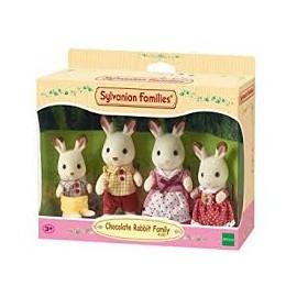SYLVANIAN - Chocolate Rabbit family 4150